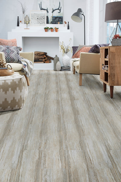 Mannington Adura Rigid Rectangles Luxury Vinyl Cascade Harbor Beige