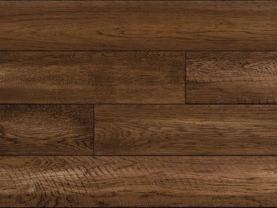Paramount Solid Prefinished Barnwood Hickory Shiplap Brown