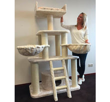 Cat Tree Cream Tiger
