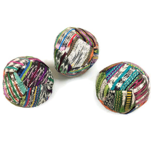 Hacky Sacks - Juggling Balls: Footbag Hippy Light Coloured - Colours of Mexico