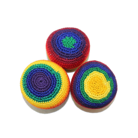 Hacky Sacks - Juggling Balls: Rainbow - Colours of Mexico