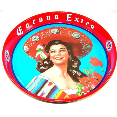 Corona Retro Drinks Tray - Colours of Mexico