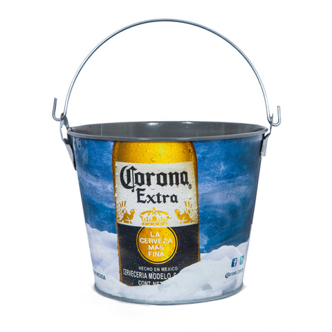 Corona Painted Beer Bucket - Colours of Mexico