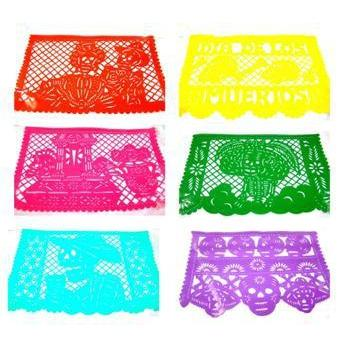 Mexican Bunting - Papel Picado: Day of the Dead - Colours of Mexico