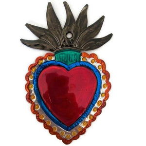 Mexican Tin Hearts - Penacho