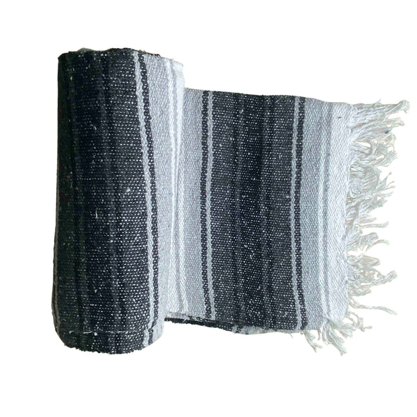 Mexican Western Yoga Falsa Blanket Grey