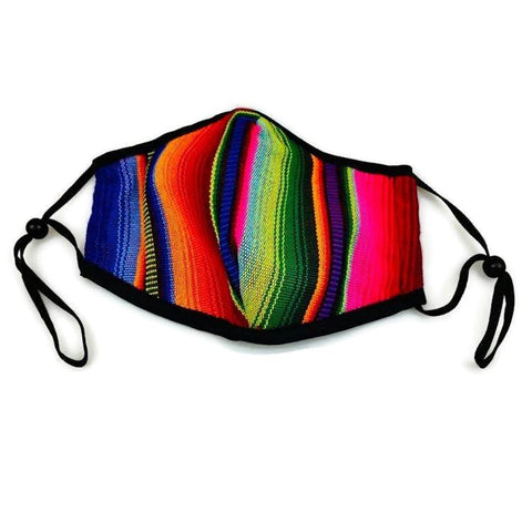 NEW: Traditional Fabric Reusable Face Mask - Made in Guatemala