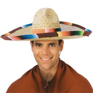 Mexican Palm Sombrero Mariachi Style - Colours of Mexico
