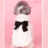 Pet Elegant Fur Overcoat