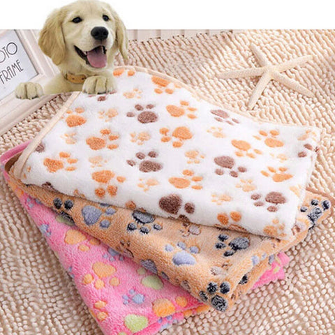 Warm Blanket, Towel, Pet Mat, for Dogs & Cats