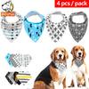 4pc lot Cotton Pet Grooming Bandana for Cats, Dogs, Children