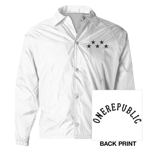 OneRepublic White Windbreaker