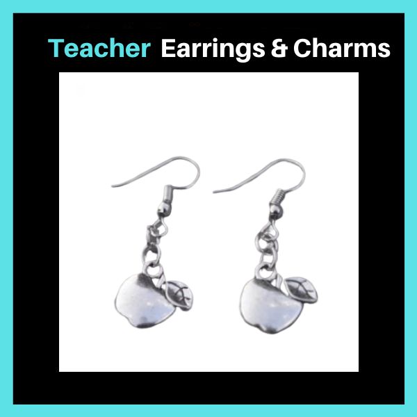 Teacher Earrings & Charms