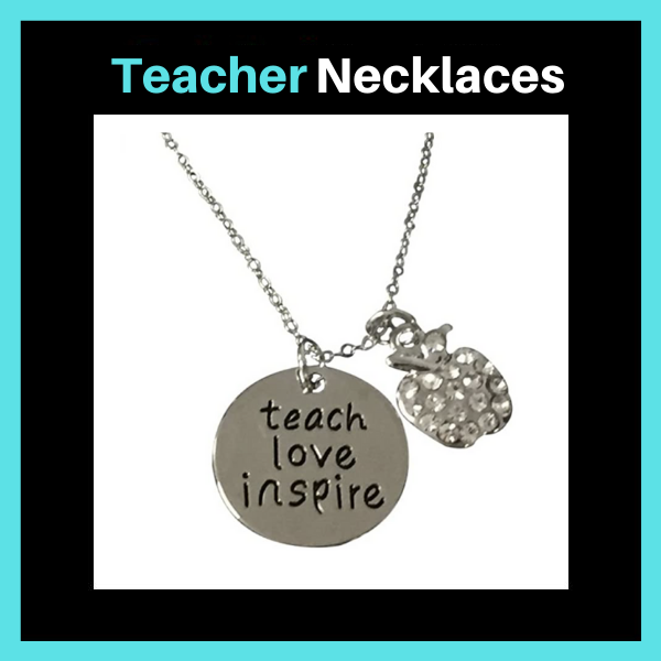 Teacher Necklaces