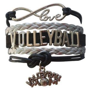 Volleyball Mom Infinity Bracelet - Infinity Collection