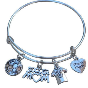 Soccer Mom Bangle Bracelet - Infinity Collection