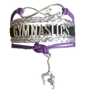 Gymnastics Bracelet- Purple - Infinity Collection