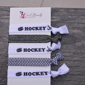 Hockey Hair Ties - Infinity Collection