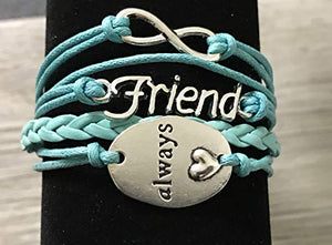 Best Friend Bracelet, Best Friends Jewelry, Friend Always Bracelet- Perfect Best Friend Gifts - Infinity Collection