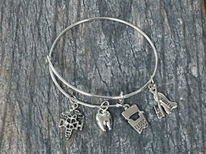 Dental Charm Bracelet - Infinity Collection