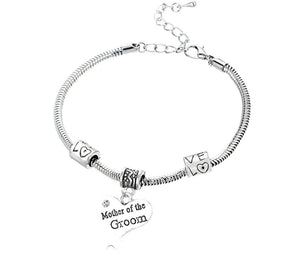 Mother of the Groom Gift - Mother of the Groom Bracelet, Makes the Perfect Gift For Mother of the Groom - Infinity Collection
