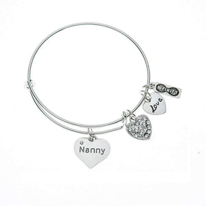 Nanny Bracelet, Nanny Jewelry, Nanny Jewelry Makes Great Nanny Gift