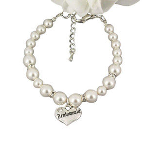 Bridesmaid Gift Bracelet, Bridal Party Bracelets, Makes the Perfect Gift For Bridesmaids - Infinity Collection
