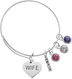 Air Force Wife Bangle Bracelet - Infinity Collection