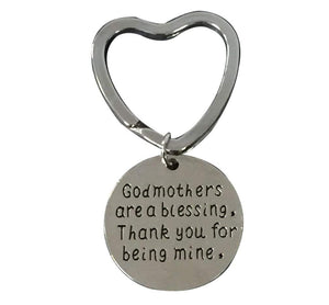 Infinity Collection Godmother Gift, Godmother Keychain, Godmother Jewelry- Perfect Gift for Godmothers
