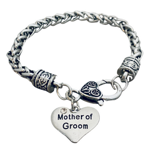 Mother of the Groom Gift - Mother of the Groom Bracelet - Infinity Collection