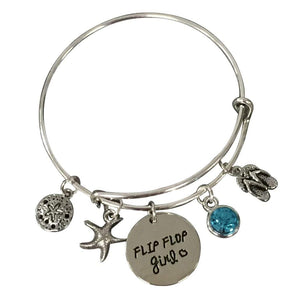 Life is Better at the Beach Bracelet, Beach Jewelry, Gift for Beach Girls