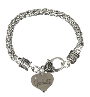 Graduate Heart Bracelet - Infinity Collection