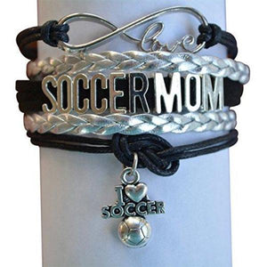 Soccer Mom Infinity Love Bracelet - Infinity Collection