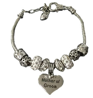 Mother of the Groom Gift - Mother of the Groom Bracelet, Mother of Groom Jewelry, Makes the Perfect Gift For Mother of the Groom - Infinity Collection