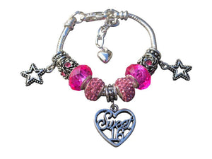 Sweet 16 Bracelet- Girls Sweet 16 Jewelry - Perfect Birthday Gift For Girls Sixteenth Birthday