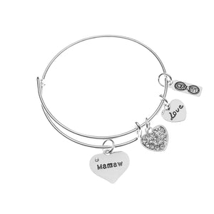 Mamaw Bracelet, Mamaw Jewelry, Grandma Jewelry Makes Great Grandma Gifts