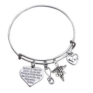 CNA Bracelet - Nurse Prayer Jewelry - Infinity Collection