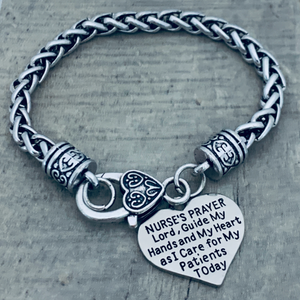Nurse Prayer Bracelet - Infinity Collection