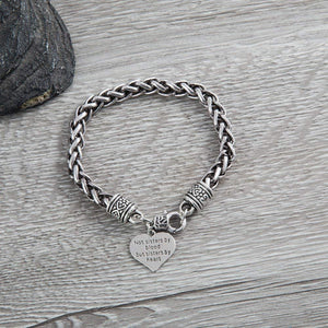 Best Friends Bracelet- Not Sisters By Blood But Sisters By Heart Bracelet- Friend Jewelry- Perfect Gift for Friends - Infinity Collection