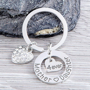 Mother Daughter Keychain, Mom Daughter Gifts - Perfect Gift for Mom or Daughter