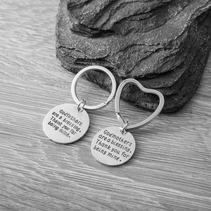 Godparent gifts, Godmother & GodFather Gifts Set, Godmother & Godfather Keychains- Perfect Gift for Godparents - Infinity Collection