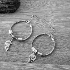Mother Daughter Bracelets (2pcs) - Mother Daughter Jewelry Set-Perfect Gift for Mom or Daughter - Infinity Collection
