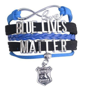 Police Lives Matter Bracelet - Infinity Collection