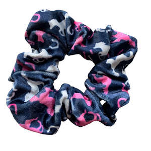 Horse  Premium Velvet Scrunchie - Infinity Collection