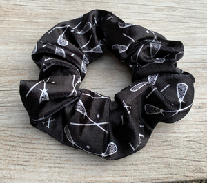 Lacrosse Premium Velvet Scrunchie - Infinity Collection