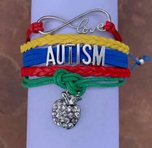 Autism Teacher Bracelet - Infinity Collection