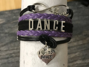 Love to Dance Bracelet - 5 Colors - Infinity Collection