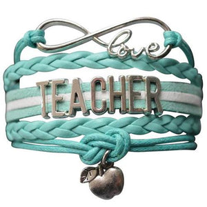 Teacher Infinity Bracelet - Infinity Collection