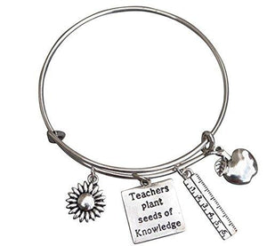Teacher Bangle Bracelet - Infinity Collection