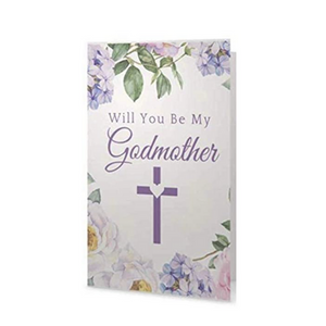 Godmother Card - Will You Be My Godmother